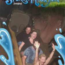 Employees on Splash Mountain