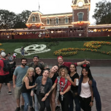 Employees at Disneyland!